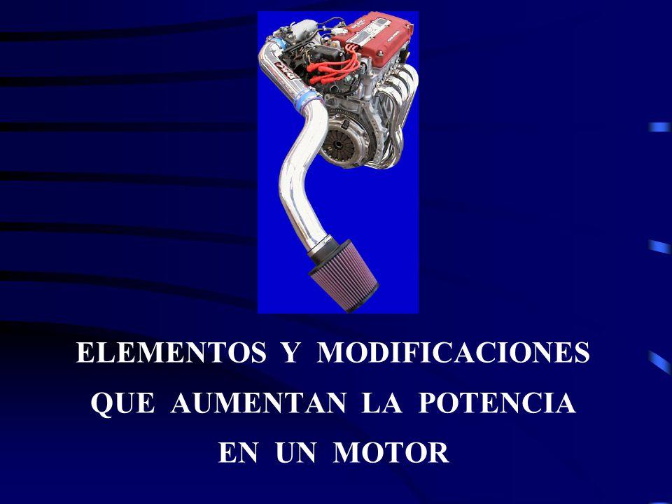 En el motor de combustión interna, se puede, sin cambiar sus principios básicos, multiplicar generosamente la potencia inicial de como fue creado.