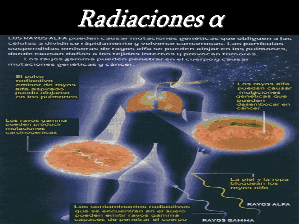 Radiaciones α
