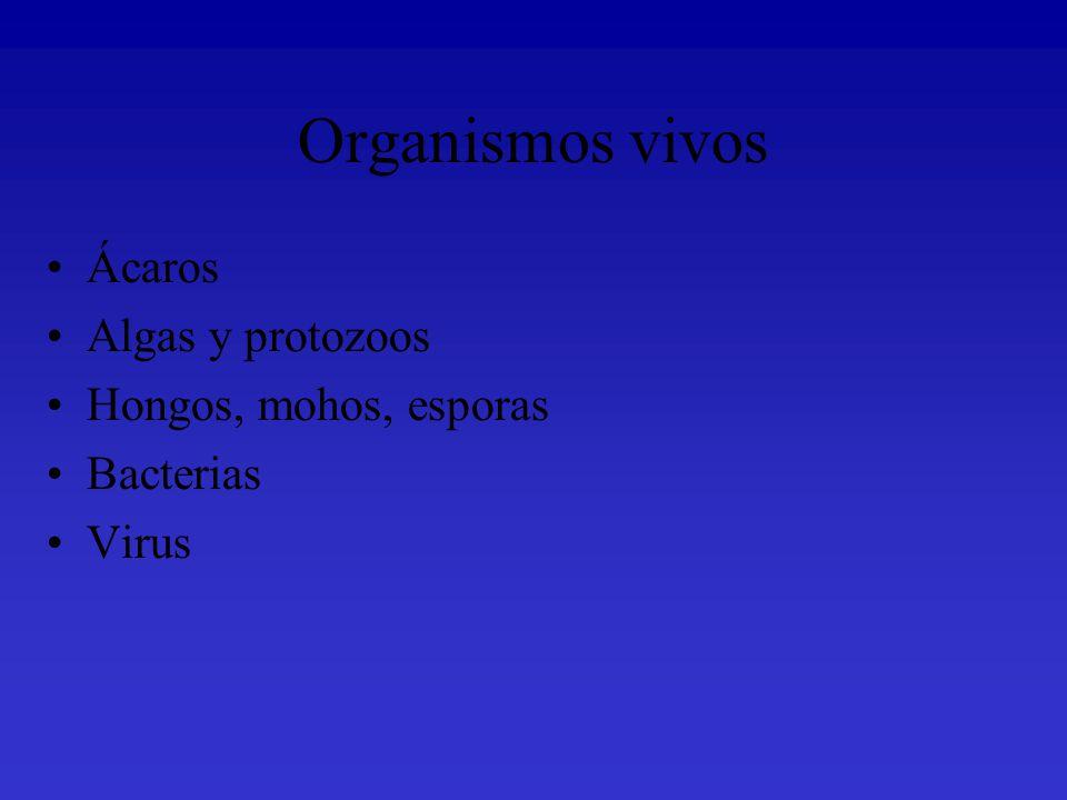 Los Ácaros Los ácaros son unos artrópodos, que se pueden encontrar en diferentes ambientes, entre ellos el Polvo Doméstico.