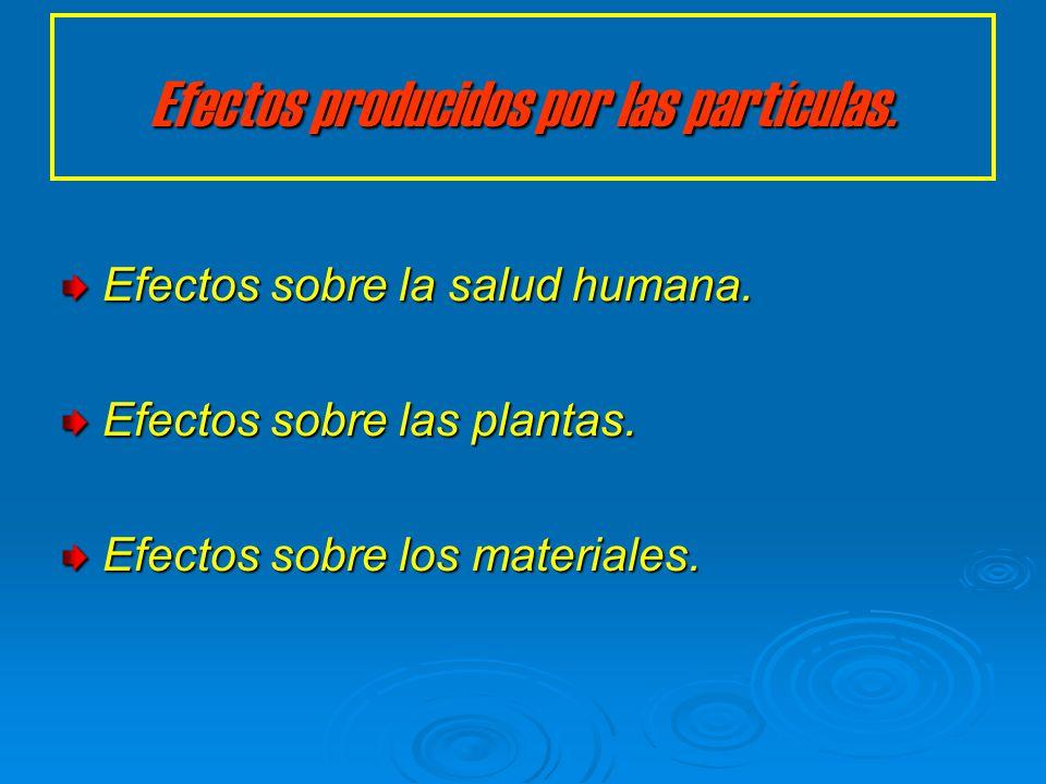 Materia orgánica particulada. Las partículas orgánicas se recogen en un filtro y el extracto se divide en tres grupos: El grupo neutro puede ser separ