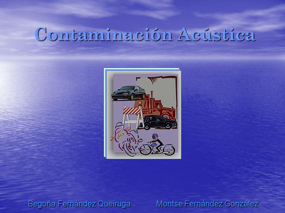 Emisión de contaminación acústica diurna y nocturna Nº de reclamaciones de ruido Niveles de dB emitidos