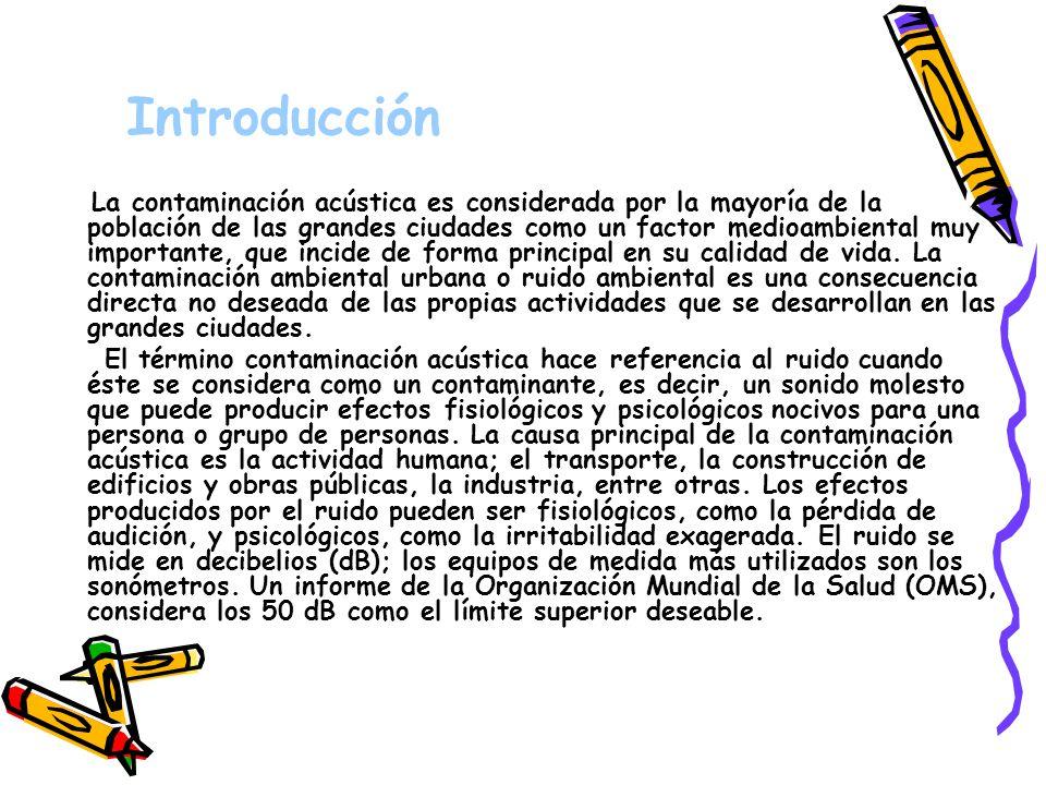 Contaminación Acústica · Begoña Fernández Queiruga · Montse Fernández González · Begoña Fernández Queiruga · Montse Fernández González
