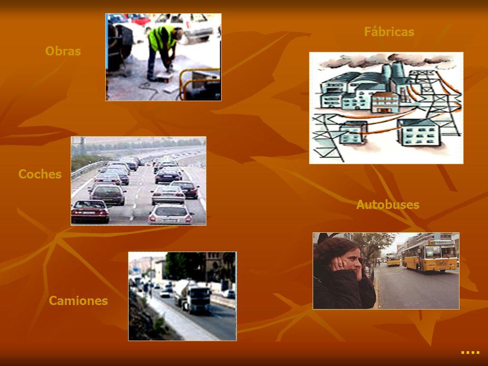 Obras Fábricas Coches Autobuses Camiones ····