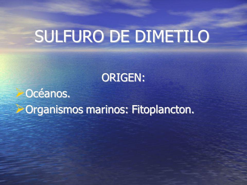 SULFURO DE HIDRÓGENO (Ácido sulfhídrico) Origen: De forma natural: Volcanes, putrefacciones, aguas sulfhídricas.