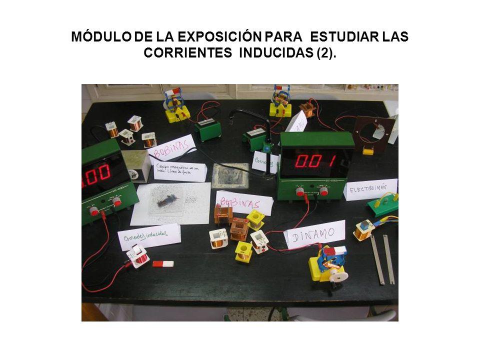 MÓDULO DE LA EXPOSICIÓN PARA ESTUDIAR LAS CORRIENTES INDUCIDAS (2).