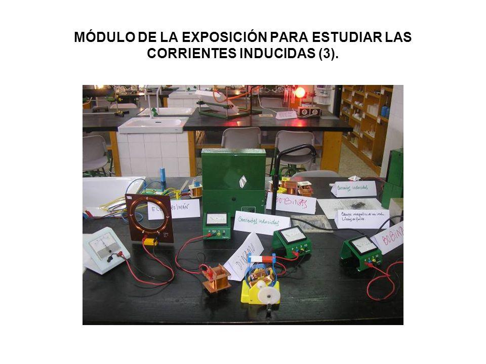 MÓDULO DE LA EXPOSICIÓN PARA ESTUDIAR LAS CORRIENTES INDUCIDAS (3).