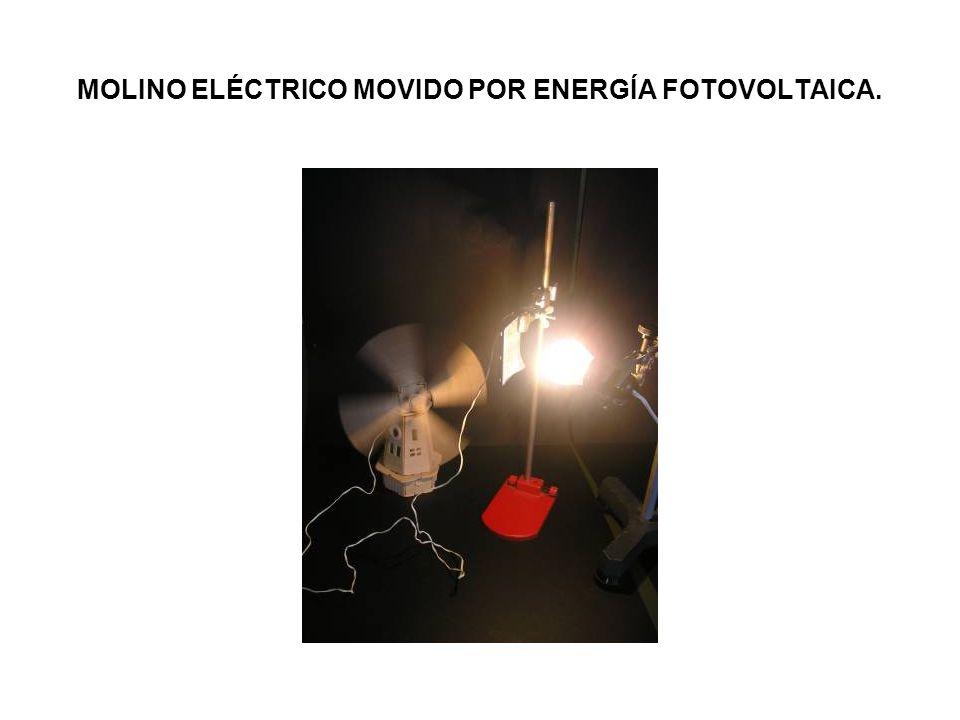 MOLINO ELÉCTRICO MOVIDO POR ENERGÍA FOTOVOLTAICA.