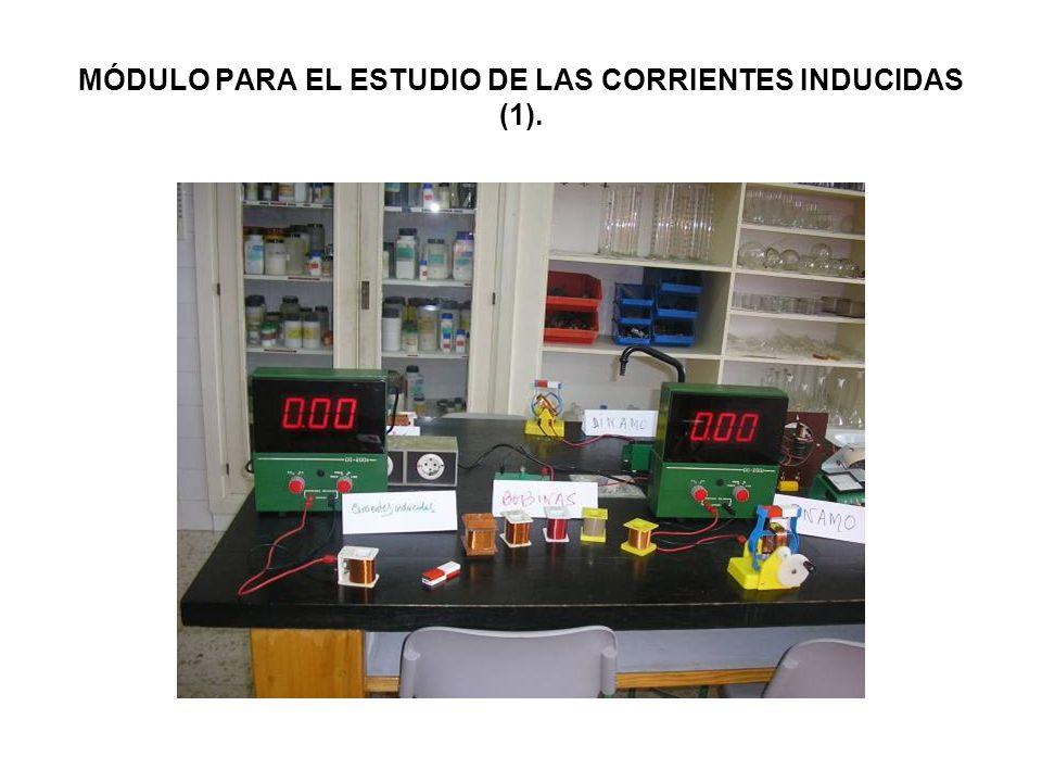 MÓDULO PARA EL ESTUDIO DE LAS CORRIENTES INDUCIDAS (1).