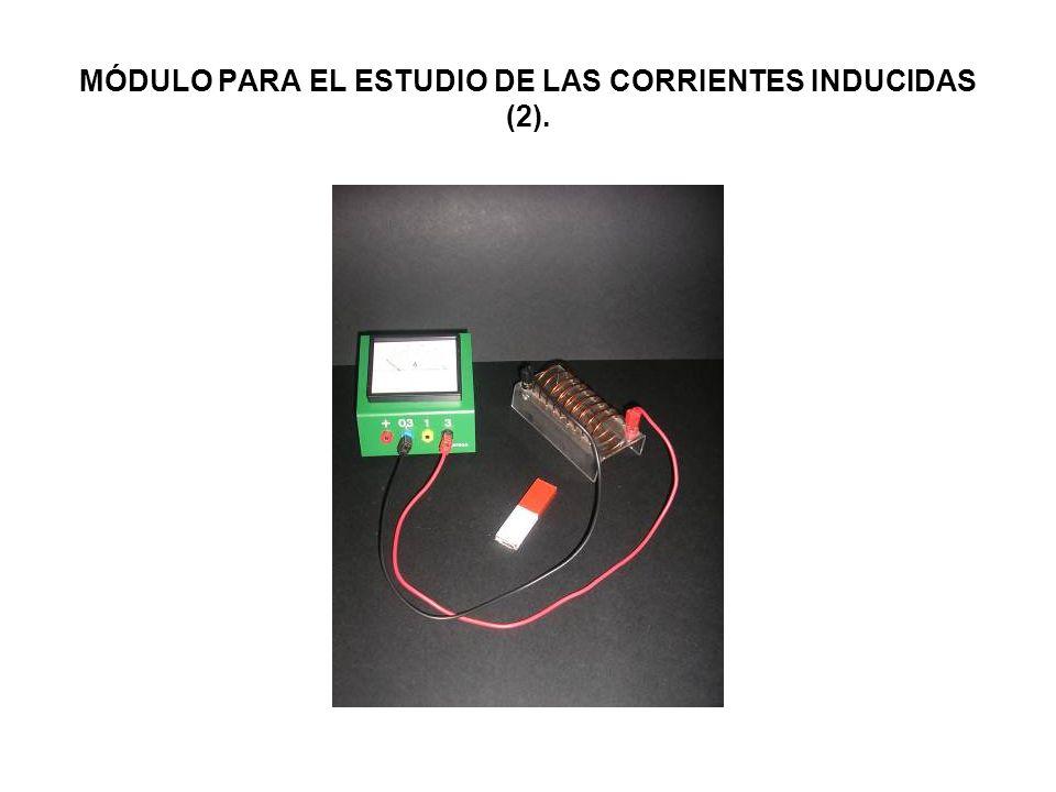 MÓDULO PARA EL ESTUDIO DE LAS CORRIENTES INDUCIDAS (2).