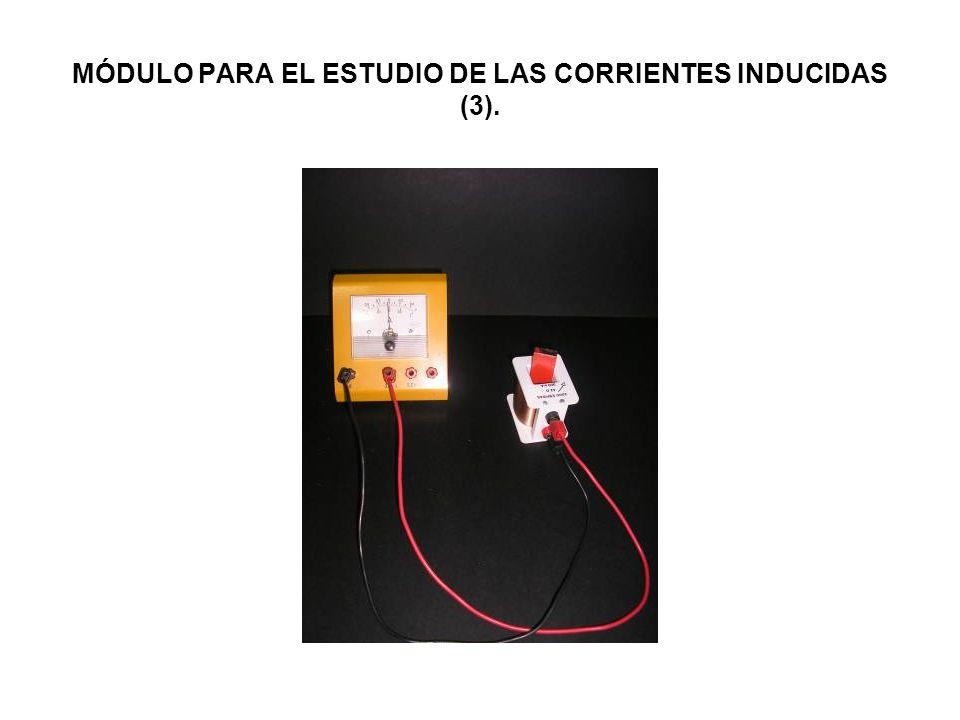MÓDULO PARA EL ESTUDIO DE LAS CORRIENTES INDUCIDAS (3).