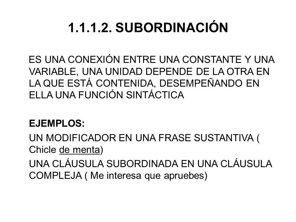 OBSERVACIONES MODIFICADORES CLÁUSALES//ORACIONALES SON EXPRESIONES QUE AFECTAN AL SENTIDO COMPLETO DE LA CLÁUSULA.