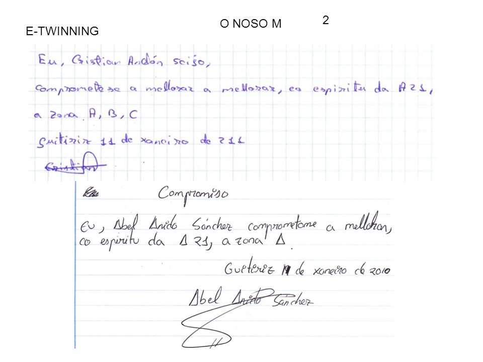 E-TWINNING O NOSO M 2