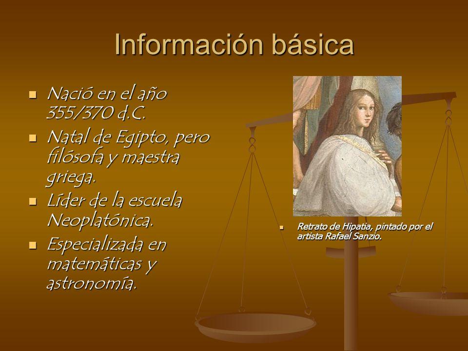 Información básica Nació en el año 355/370 d.C.Nació en el año 355/370 d.C.