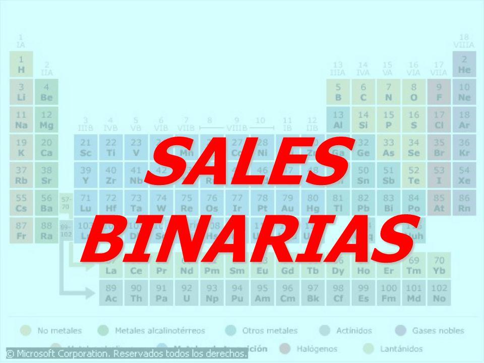 SALES BINARIAS