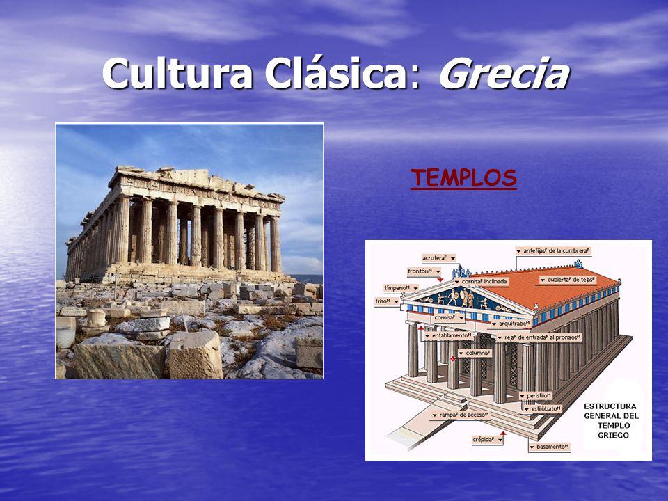 Cultura Clásica: Grecia TEMPLOS