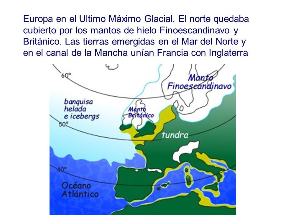 Europa en el Ultimo Máximo Glacial.