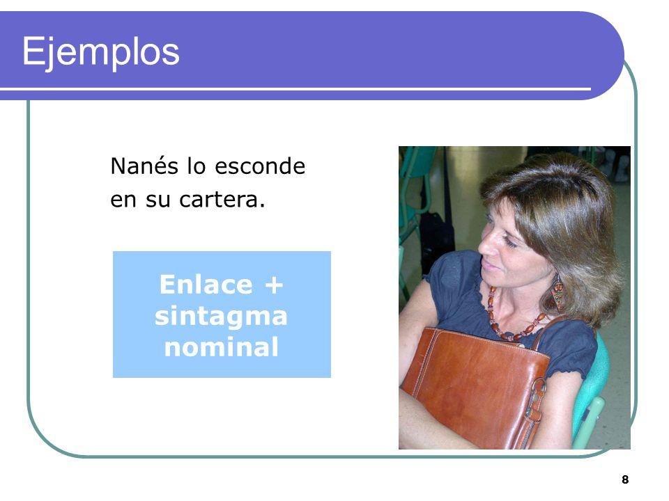7 Ejemplos Se está bien Sintagma adverbial aquí.