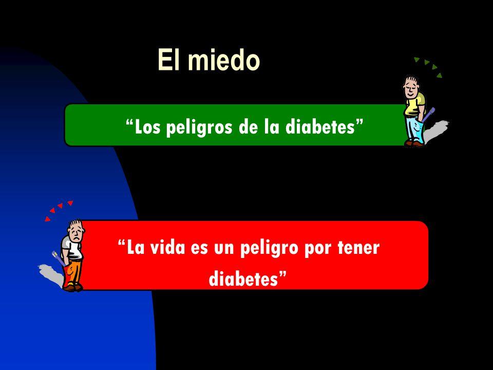 El miedo Los peligros de la diabetes La vida es un peligro por tener diabetes