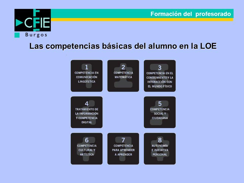 Las competencias básicas del alumno en la LOE