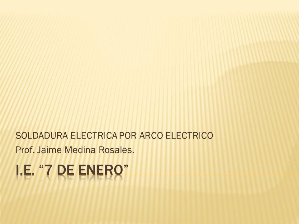 El sistema de soldadura eléctrica con electrodo recubierto se caracteriza, por la creación y mantenimiento de un arco eléctrico entre una varilla metálica llamada electrodo, y la pieza a soldar.