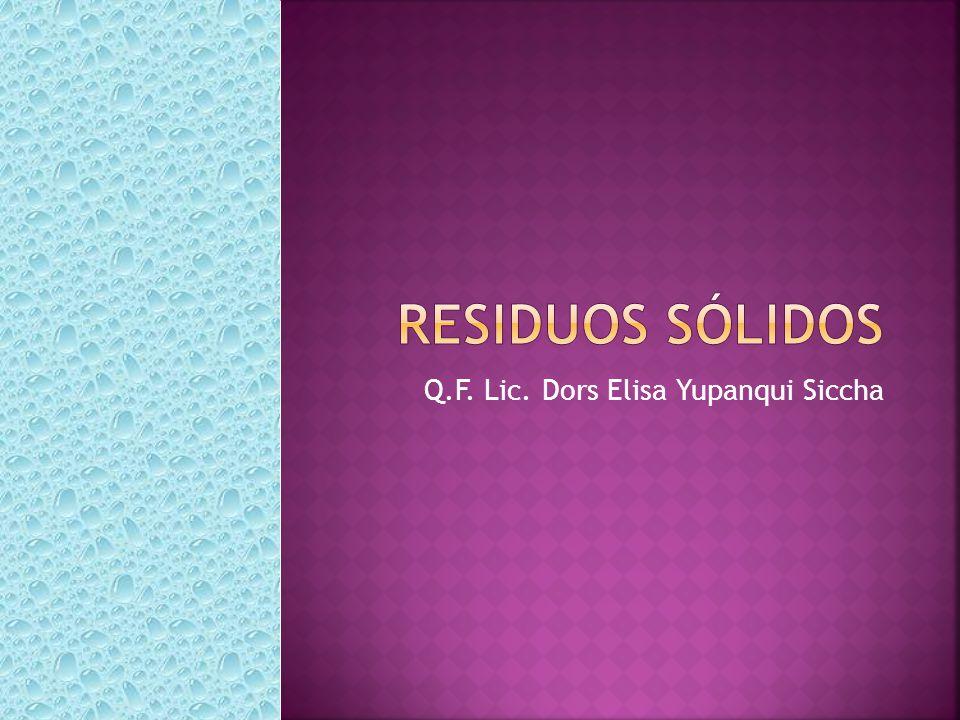Q.F. Lic. Dors Elisa Yupanqui Siccha