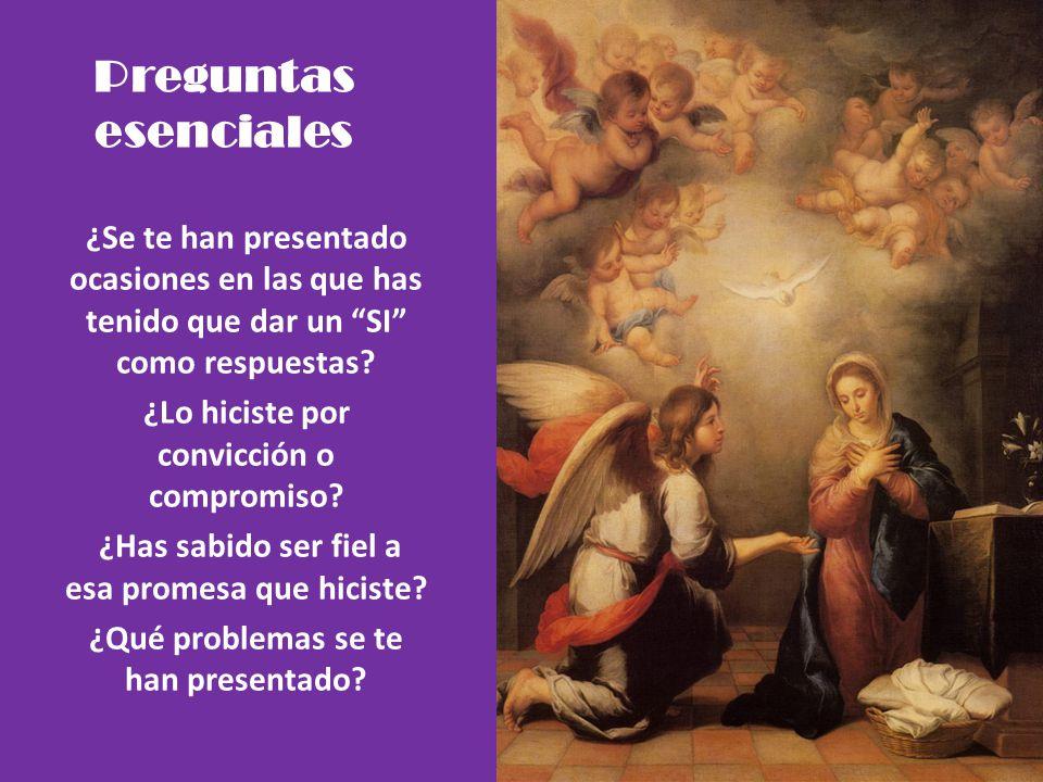 Resumen de la unidad María es aquella mujer que desde siempre el Señor eligió para una misión muy importante: nacer de Ella; por eso la colmo de graci