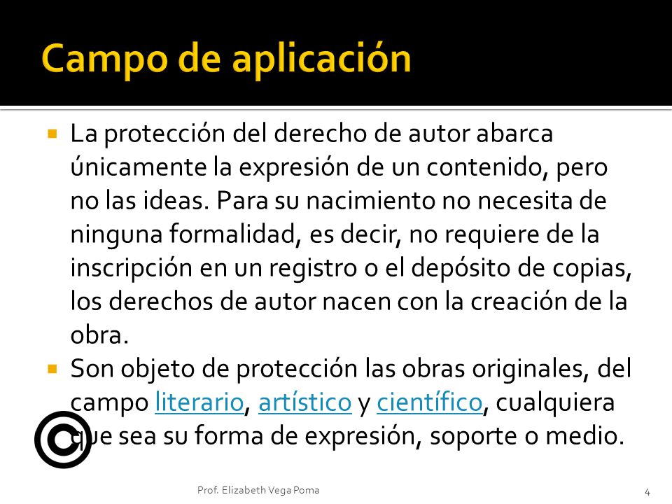El derecho de autor y copyright constituyen dos concepciones sobre la propiedad literaria y artística.