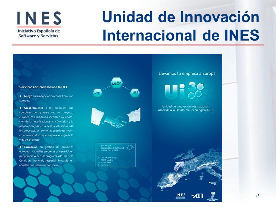 15 Unidad de Innovación Internacional de INES