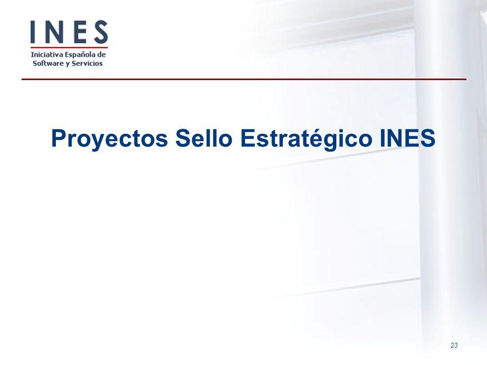 23 Proyectos Sello Estratégico INES