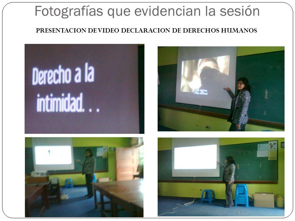 T PRESENTACION DE VIDEO VIOLACION DE DE DERECHOS HUMANOS