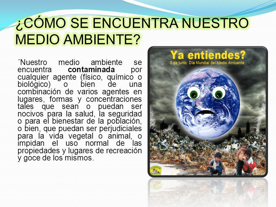 Deteriora cada vez mas a nuestro planeta.Atenta contra la vida de plantas, animales y personas.