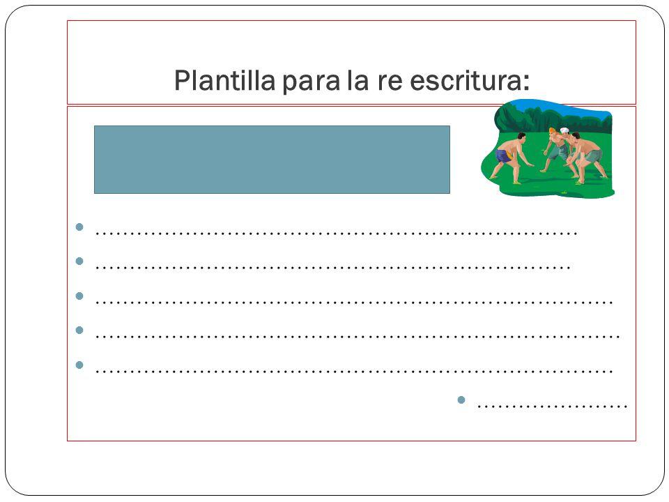 Fases:planificación-borrador- reescritura-publicación