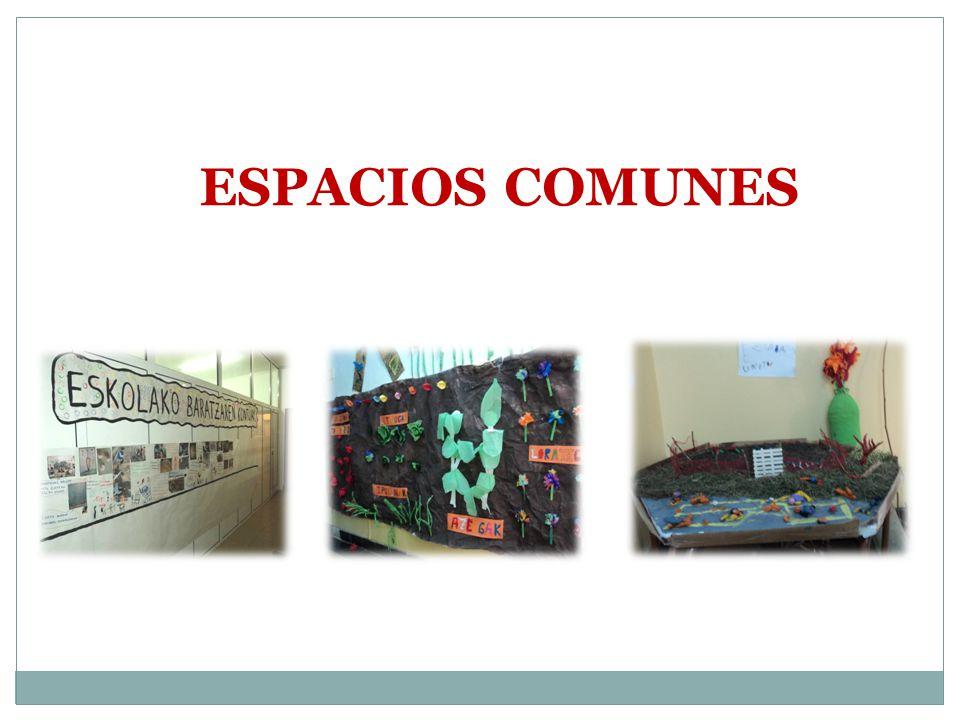 ESPACIOS COMUNES