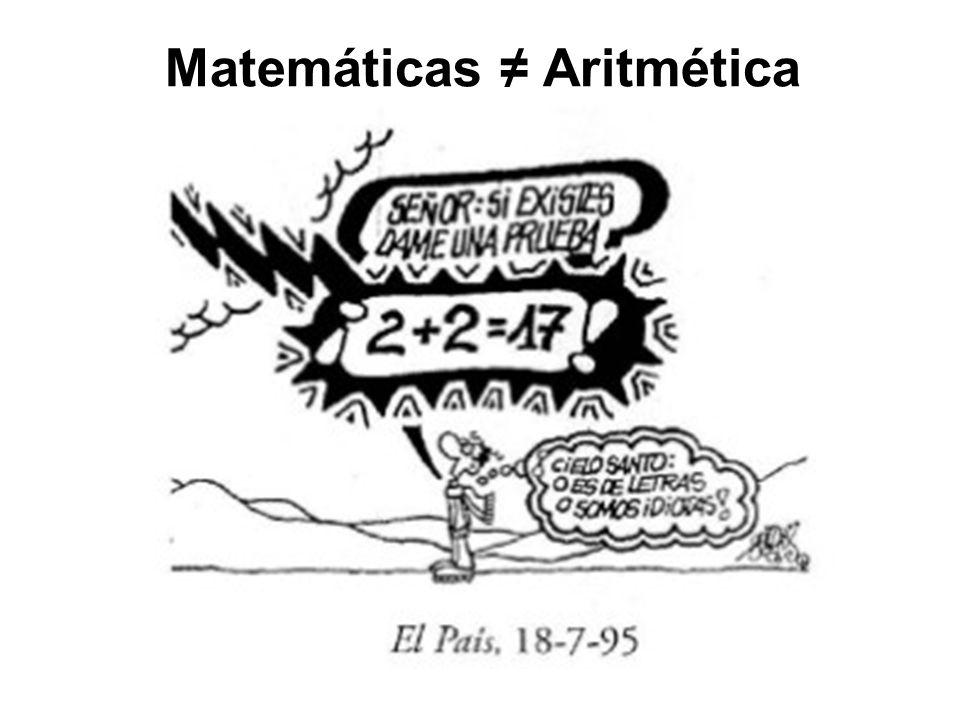 Matemáticas Aritmética