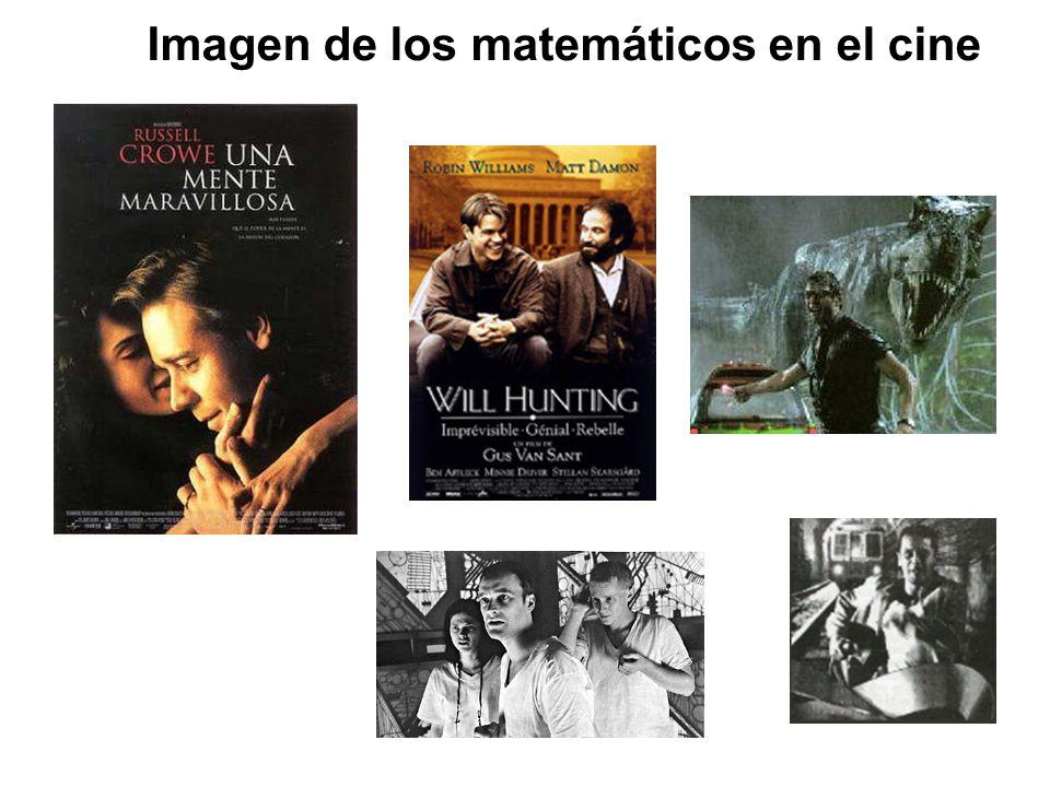 Imagen de los matemáticos en el cine
