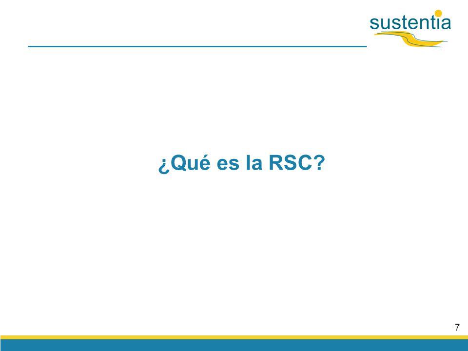 7 ¿Qué es la RSC?