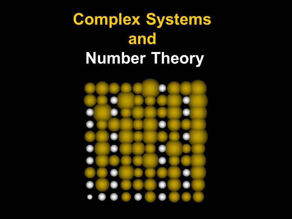 Teoría de números Muchos problemas abiertos son fáciles de formular, aunque las respuestas pueden ser extremadamente difíciles de encontrar [Guy]: (1) Conjetura de Golbach: todo número par es expresable como la suma de dos primos (primos de la forma p y p + 2).