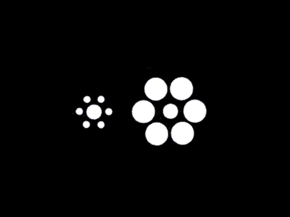 No, ambos son del mismo tamaño. El circulo del centro a la izquierda es mas grande?