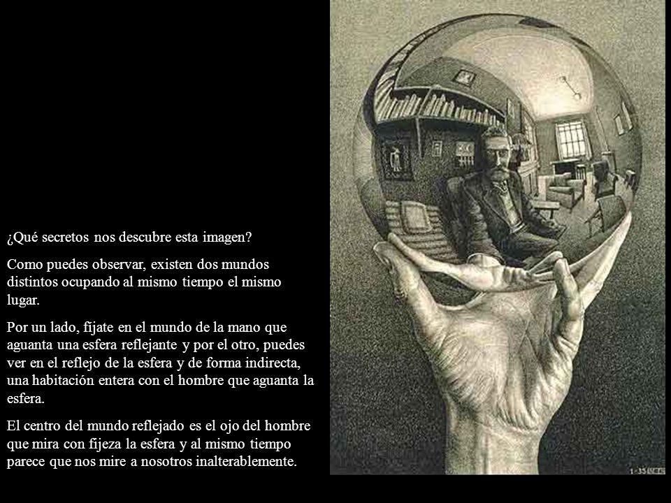 ¿Qué secretos nos descubre esta imagen? Como puedes observar, existen dos mundos distintos ocupando al mismo tiempo el mismo lugar. Por un lado, fíjat