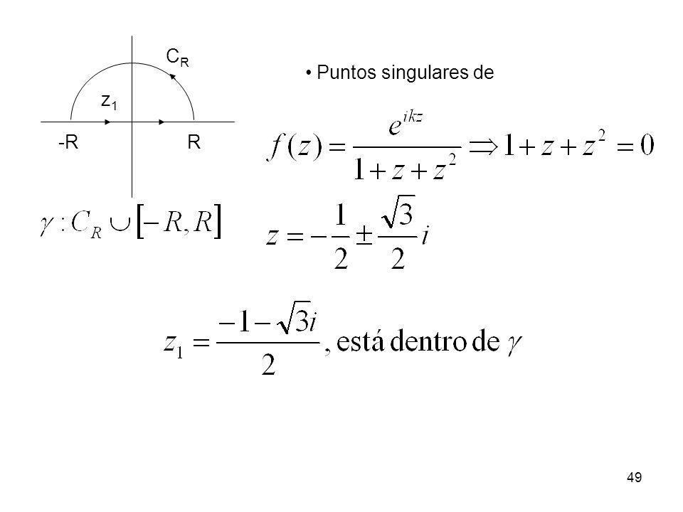 49 -RR CRCR z1z1 Puntos singulares de