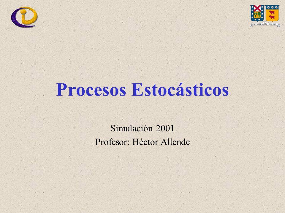 Procesos Estocásticos Simulación 2001 Profesor: Héctor Allende