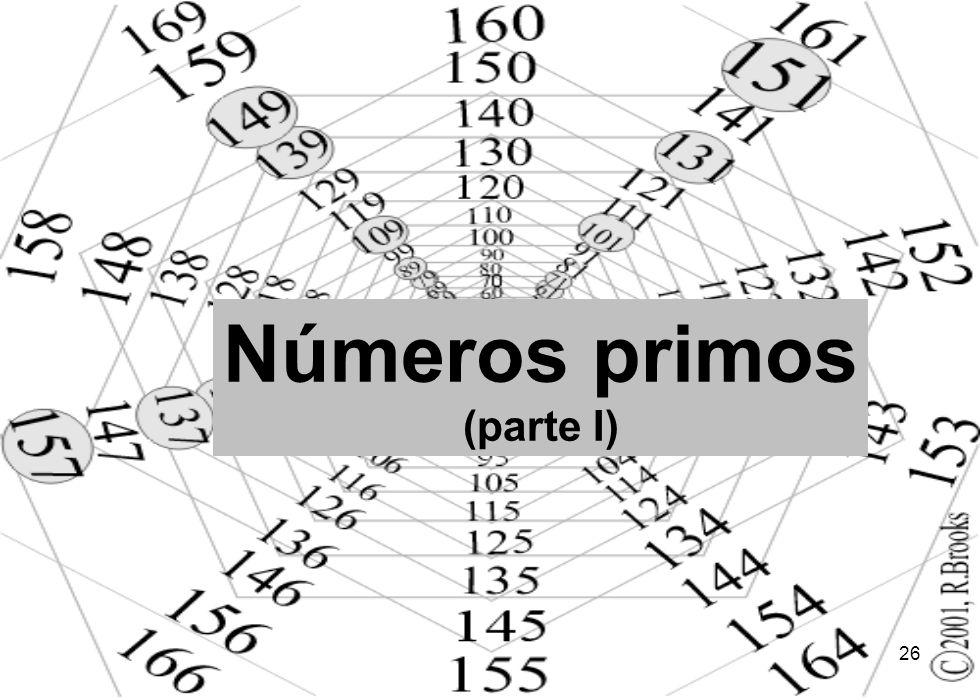 26 Números primos (parte I)