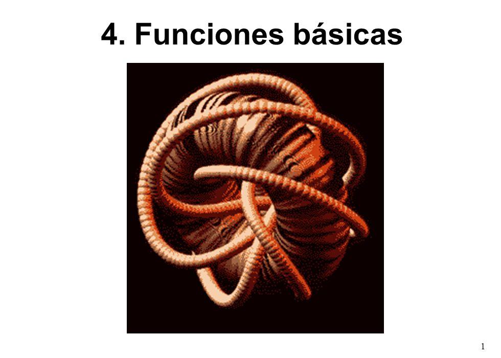 1 4. Funciones básicas