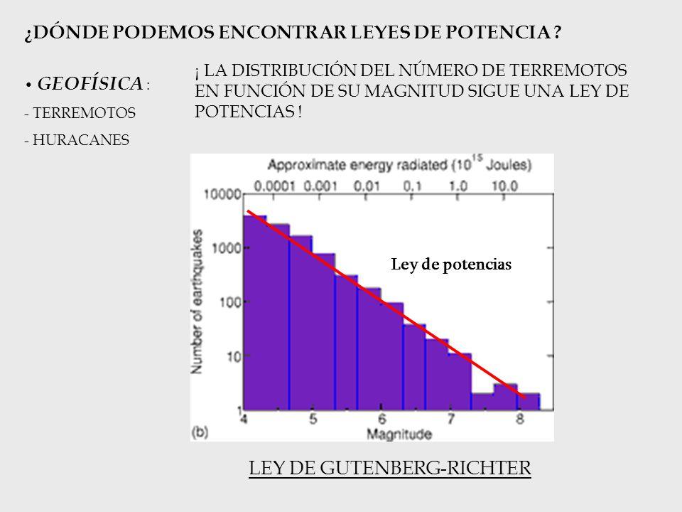 PREVENCIÓN: ESTUDIO MATEMÁTICO DE LA ROBUSTEZ DE LA RED ROBUSTEZ FRENTE A FALLOS / ATAQUES: RED ELÉCTRICA SISTEMA ELÉCTRICO ESPAÑOL MODELO MATEMÁTICO (RED) GeneradoresNodos Líneas eléctricasEnlaces Calentamiento de un generador Desaparición de un nodo Mal estado de un cable de tensión Desaparición de un enlace Cortes en cadena Apagón general Desmembración de la red Fallo aleatorio Consecuencia (OTRO EJEMPLO: REDES ECOLÓGICAS y EXTINCIONES)