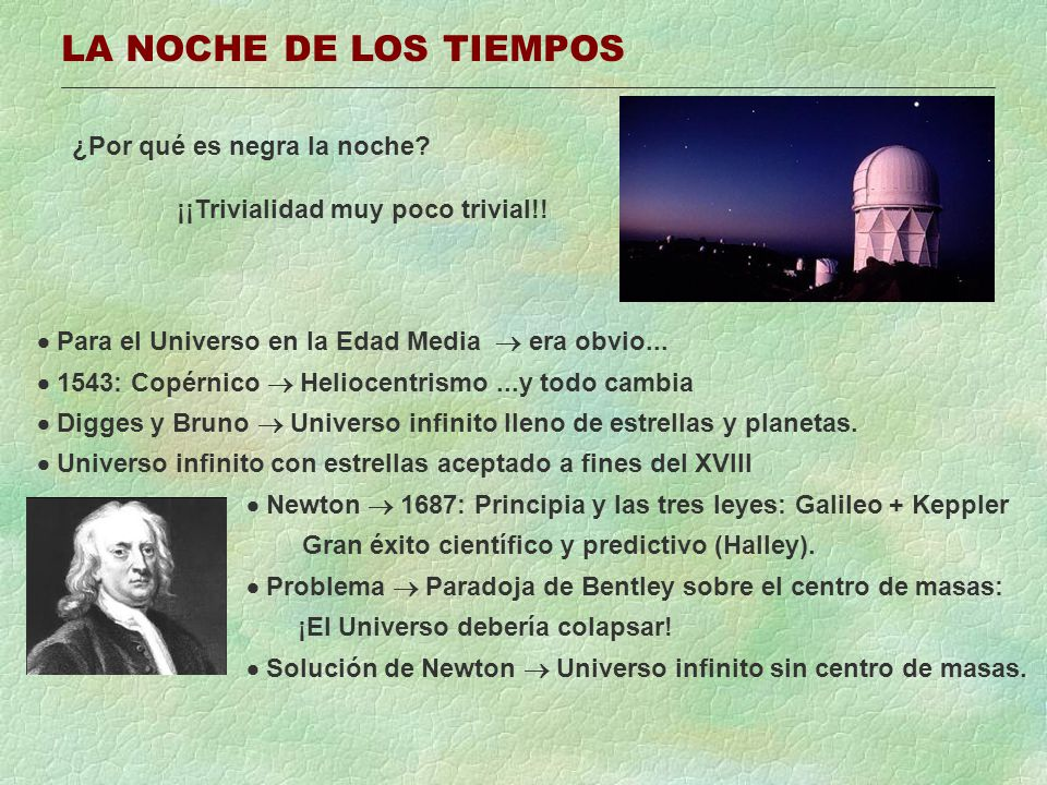 EL MODELO ESTANDAR DEL BIG BANG Big Bang original: Lemaitre, 1927.