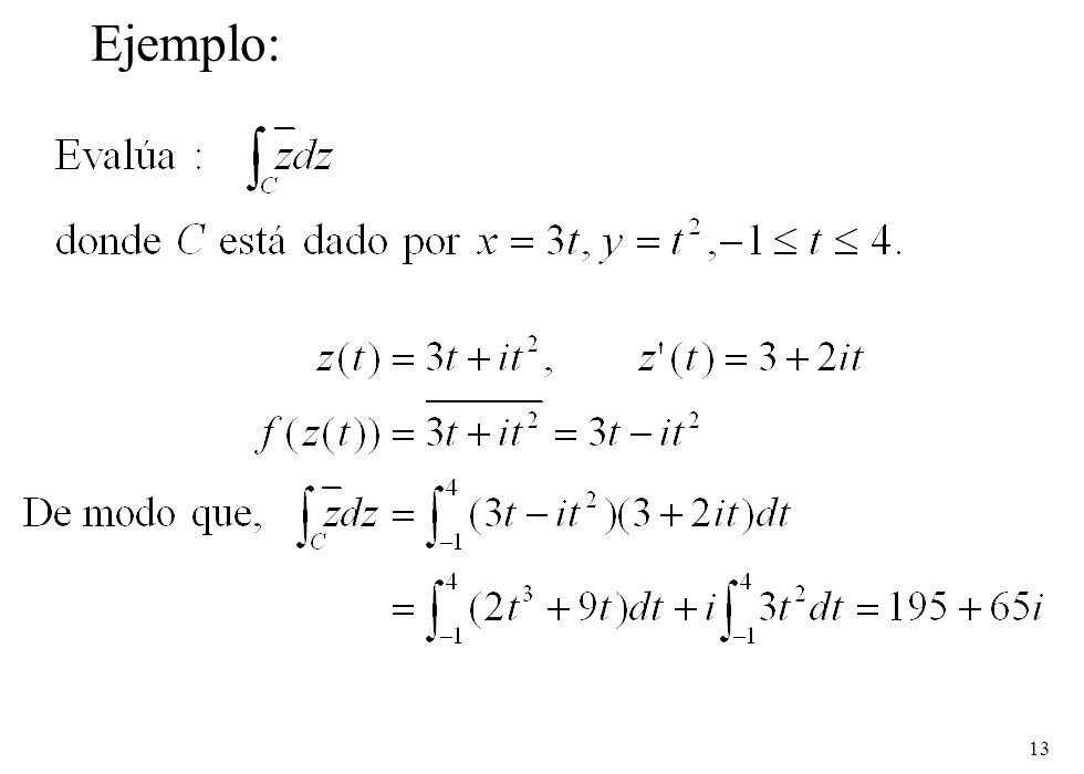 13 Ejemplo: