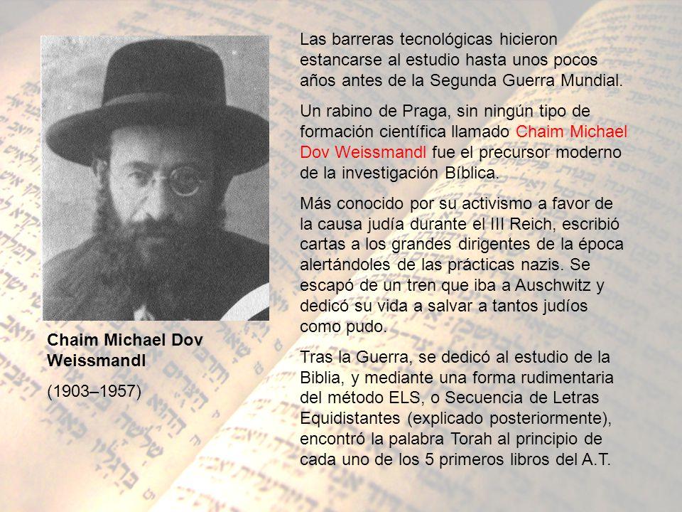 Las barreras tecnológicas hicieron estancarse al estudio hasta unos pocos años antes de la Segunda Guerra Mundial. Un rabino de Praga, sin ningún tipo