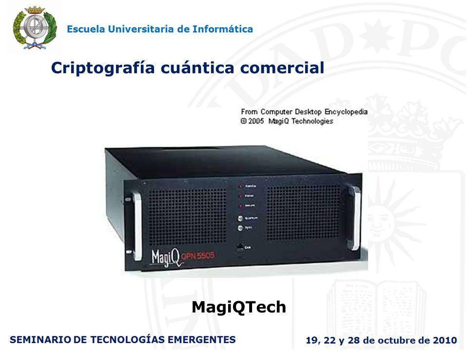 Criptografía cuántica comercial MagiQTech