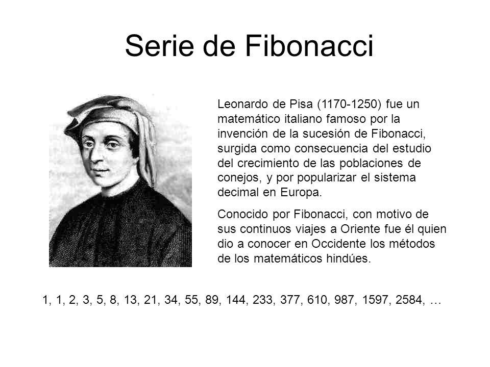 Antes de que Fibonacci escribiera su trabajo la secuencia áurea había sido descubierta por matemáticos hindúes investigando los patrones rítmicos que se formaban con sílabas o notas de uno o dos pulsos.