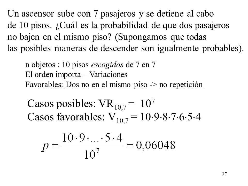 36 Fórmula de Stirling La demostración de la fórmula de Stirling puede encontrarse en la mayoría de textos de análisis. Vamos a verificar la bondad de